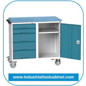 Mobile Tool Trolley Manufacturer, Supplier in Ahmedabad