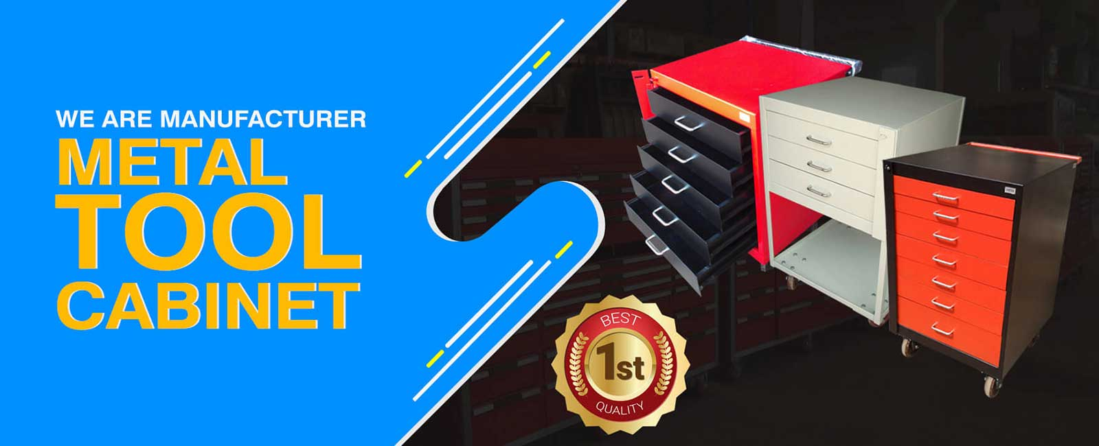 Metal Tool Cabinet Manufacturer in ahmedabad
